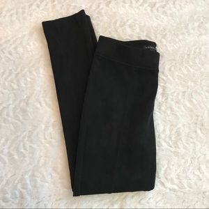 Andrew Marc Faux Suede Pullover On Pants Black